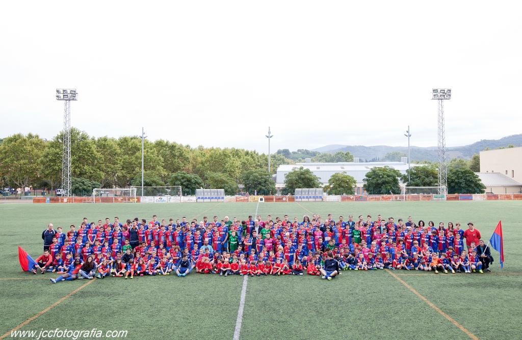 Foto de Familia presentació Temporada 2015-16 C.E. Llinars