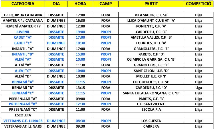 horaris-partits-26-27-novembre