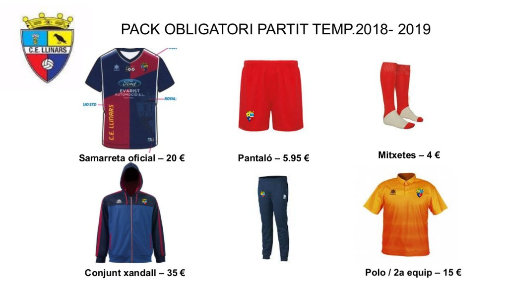 pack 2018_partits